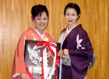 坂本冬美さんとツーショット