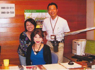 東京キャンペーンでラジオ出演
