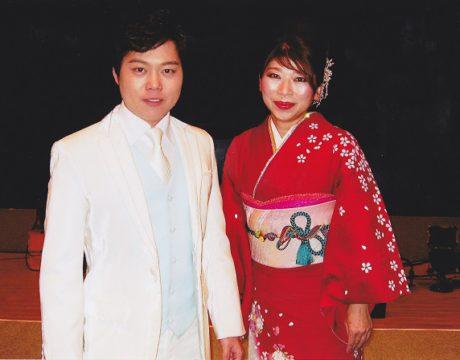 鳥羽一郎公演で「三山ひろし」さんと