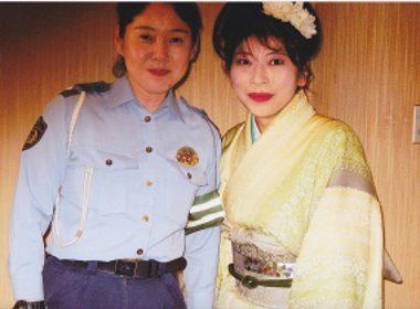 桜井署交通課長さんとツーショット