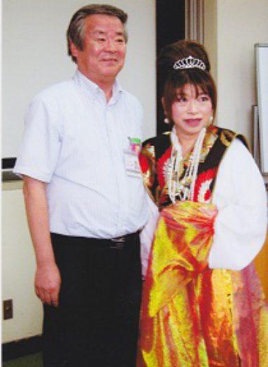 松井桜井市長と記念撮影